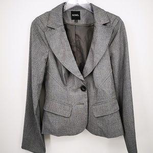 XOXO Women's Medium Gray Blazer